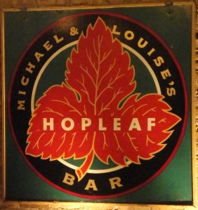 Hopleaf Sign