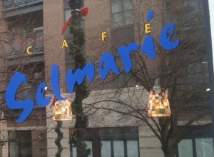 Cafe Selmarie Sign