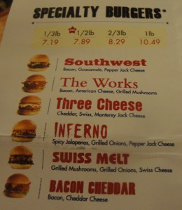 Fuddruckers Burger Combinations