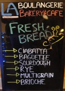 La Boulangerie Chalkboard
