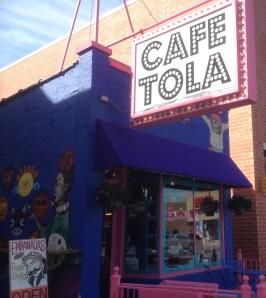 Cafe Tola on Southport