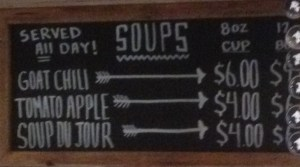 Little Goat Soup Options