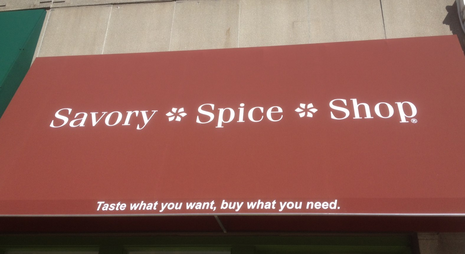 Over to the Savory Spice Shop at Lincoln Square for some rubs