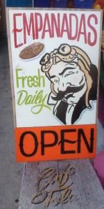 Empanada Signat Cafe Tola