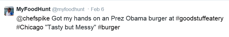 tweet about burger
