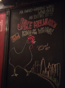 Chicken Wings at Jake Melnicks