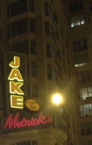 Jake Melnicks Sign