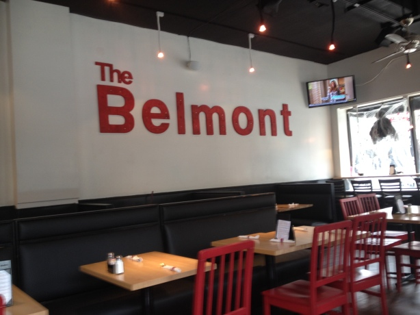 The Belmont Cafe in Belmont