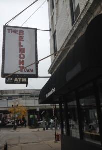 Belmont Cafe Sign